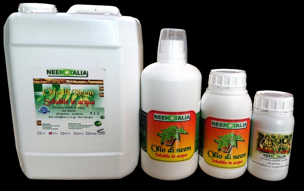 Olio di neem solubile