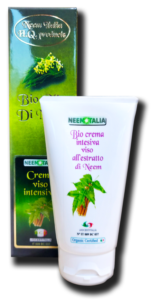 Bio crema viso intensiva all'olio di neem