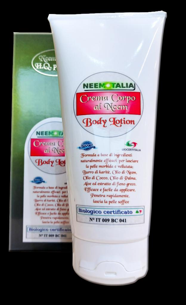 Crema corpo neem