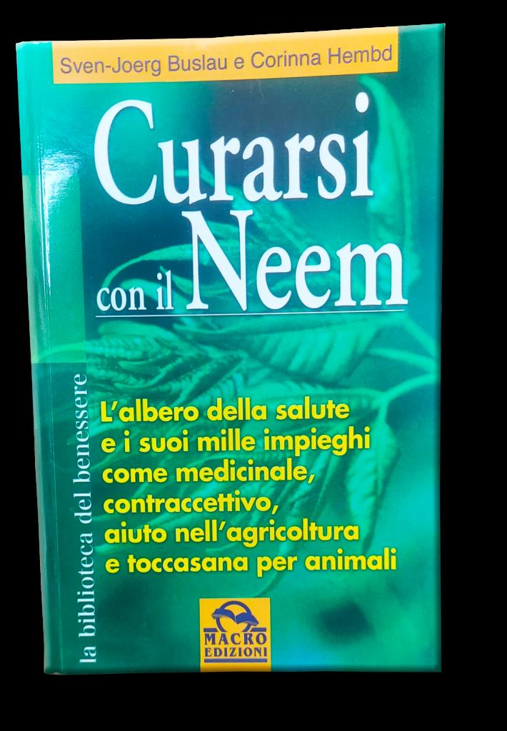 """Libro """"Curarsi con il neem"""""""