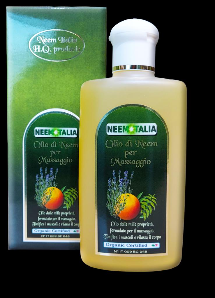 Olio da massaggio al neem