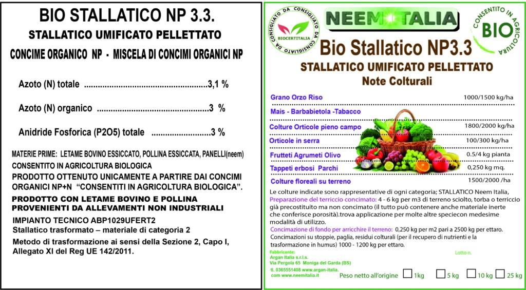 Etichetta stallatico
