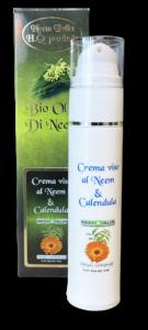 Crema viso giorno-notte al neem e acido ialuronico - tubetto da 50ml con dispenser
