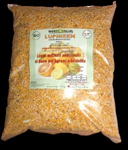 Sacco di Lupini per agricoltura con polvere di neem